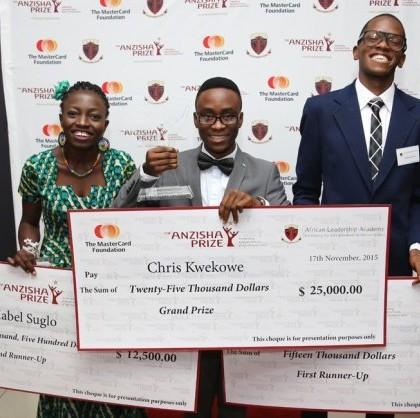 Anzisha Prize Winners-Press Release Photo